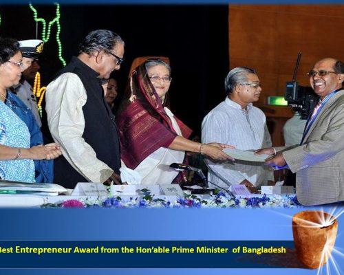 Best Entrepreneur Award