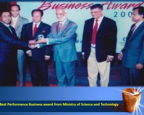 Best Performance Business award