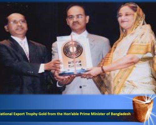 National Export Trophy Gold