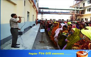 Regular Fire Drill Awareness.......